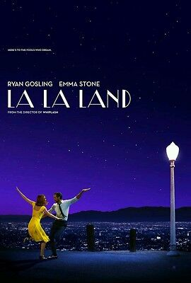 Script Screenplay  La La Land   Printed Signed Cover Gosling And Stone