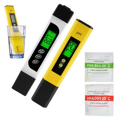 Digital TDS EC Meter + PH Tester Paper Aquarium Pool Water Test Pen Stick BI716