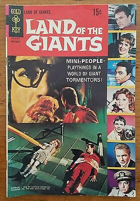 Land of the Giants #1 (Nov 1968, Western Publishing) Gold Key First Edition