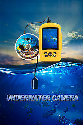 Underwater Fishing & Inspection Camera System CMD sensor 3.5 inch TFT RGB screen