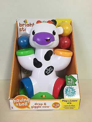 Bright Starts Having A Ball Drop and Giggle Cow. New