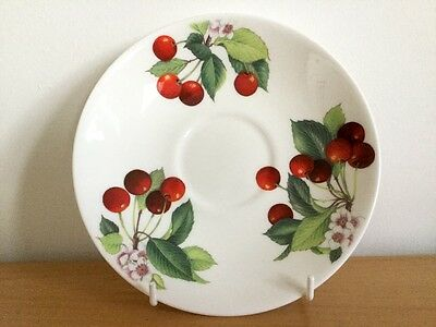 ROY KIRKHAM 'Cherry' 2013 Fine Bone China Breakfast Saucer