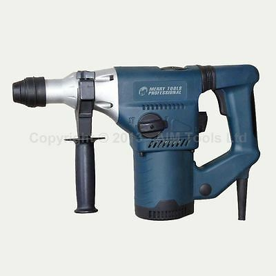 MERRY® 900W 28MM SDS PLUS Rotary Hammer Drill 3 Functions Breaker 100335
