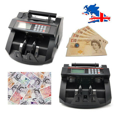 Bank Note Currency Counter Count Detector Money Fake Banknote Pound Cash Machine