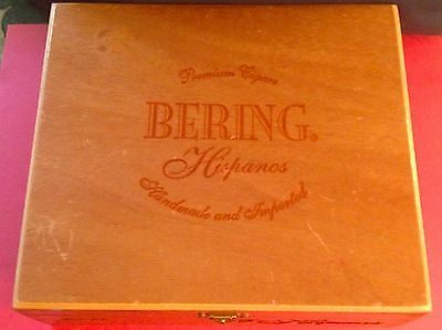 FREE SHIPPING!!! Bering Hispanos Cigar Box Handmade and Imported from Honduras