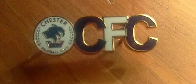 Chester Fc Crest Cfc Badge. New.