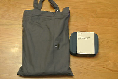 NEW Cathay Pacific First Class PYE Airline Pajamas M w/ Male AESOP Amenity Kit