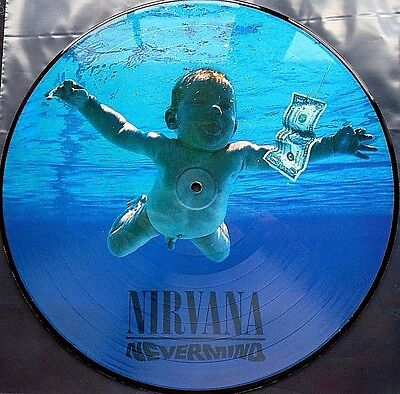 Nirvana ~ Nevermind ~ Limited Edition Picture Disc ~ New/Mint