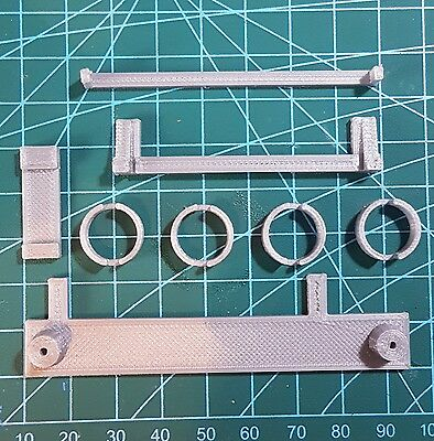 Gameboy Zero 3D Printed DMG-01 Screw Bracket Parts Button Wells Wermy
