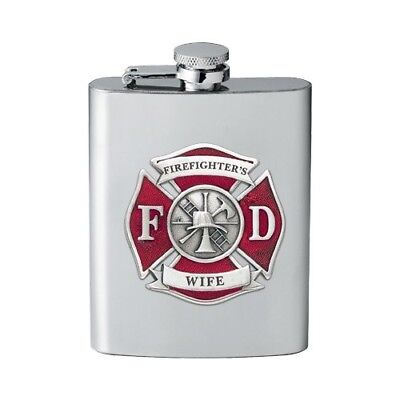 Fire Fighter Wife Flask