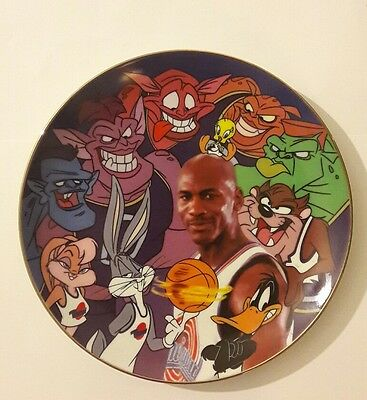 SPACE JAM Limited Edition Plate Looney Tunes Warner Bros