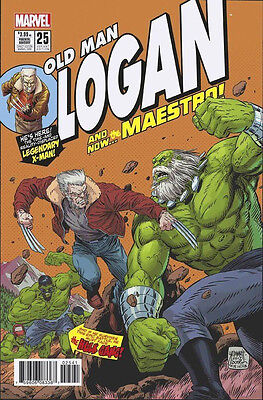 OLD MAN LOGAN #25 1:10 Tomm Grummet Hulk 181 Homage Variant Marvel 1st Print NM