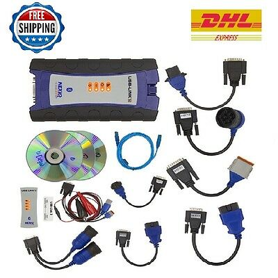 124032 NexiQ 2 USB Link Truck Diagnostic Tool + BT With Software Replaces 125032