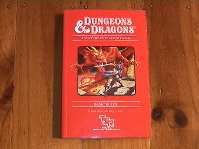 DUNGEONS & DRAGONS  Fantasy Role Playing Game - 1986 'UK Paperback Release'