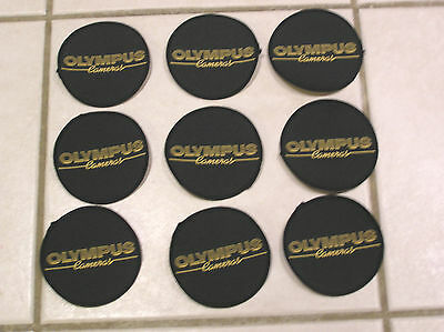 OLYMPUS F1 MOTOR RACING PATCHES x 9 no. BRAND NEW 1970'S 1980'S STOCK JOB LOT