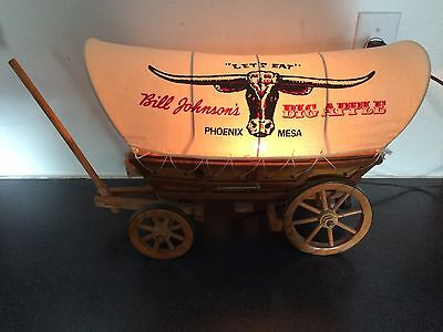 RARE Bill Johnson's Big Apple Phoenix / Mesa AZ Arizona - WAGON LIGHT DISPLAY