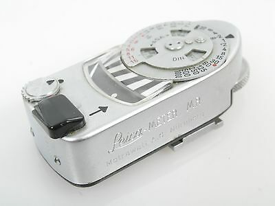 Leitz Leica Leicameter MR-4 chrom nicht funktionsfähig out of order