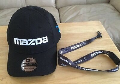 MAZDA Racing Team IMSA Speed Source # 70 #07 New Era 39THIRTY  Hat Cap L/XL