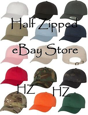 Dad'S Cap Baseball Hat - Yupoong Unstructured Classic Cap 6245CM