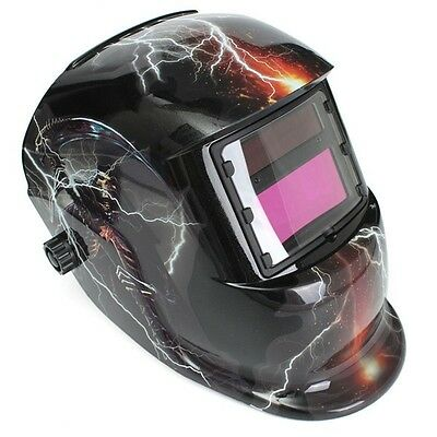 Auto-Darkening Welder Mask Solar Anti-Aging Mask TIG MIG Fire Retardant Mask NEW