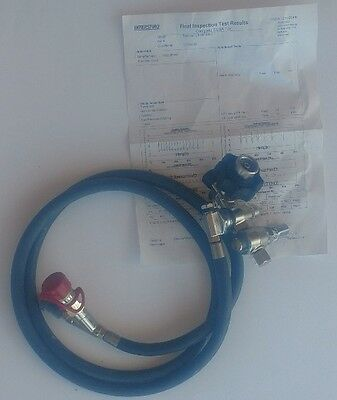 Interspiro Rescue Pack Regulator Assembly With hose 96927-01