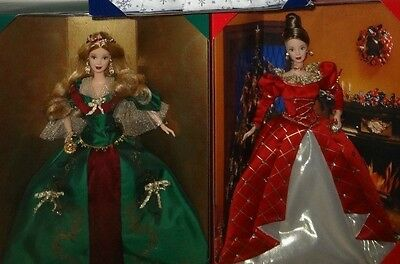 Holiday Treasures Barbie Collector Club Exclusives 1999 / 2000