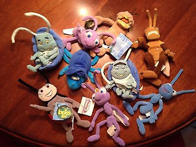 Disney Pixar Bugs Life Stuffed Characters/insects. 10