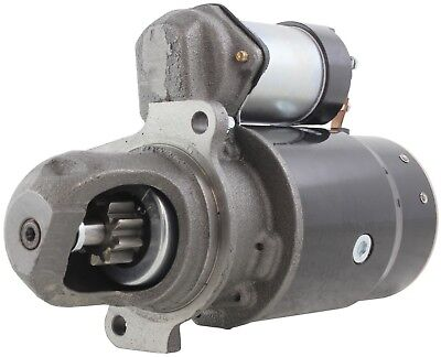 New USA Built Hyster Starter 12Volt 9Tooth Clockwise 1107205 1107292 1107760
