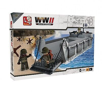 Sluban slubanm38-70070 WW II Landungen Craft Bausteine Set