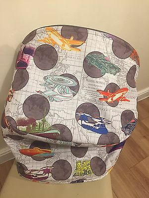 Bugaboo Cameleon 3 Andy Warhol Transport Hood Canopy EXTREMELY RARE Cars Trains