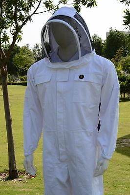 Beekeeping Premium Cotton Overalls Cool Bee Hive Full Suit