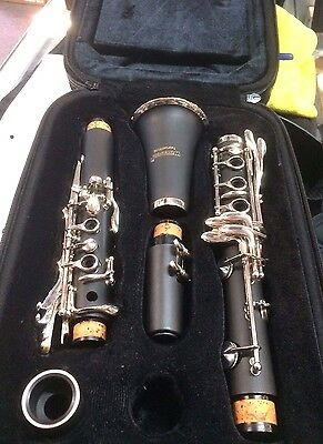 Clarinet Wisemann just traded back 1 YEAR OLD with CASE @ CarlingfordMusic