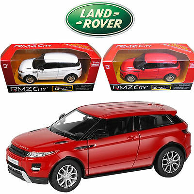 1:36 Land Range Rover EvoQue SUV Pull Back Diecast Model Vehicles Car Kids Toy
