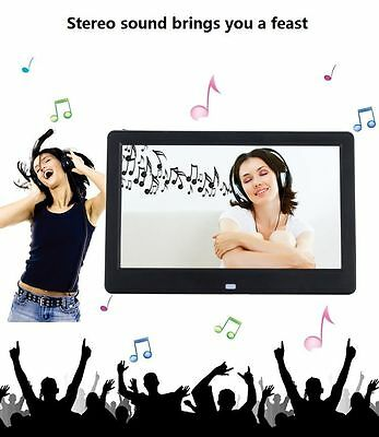 "10.1"" HD LED Digital Photo Frame Picture Album Calendar/MP4/Video/Movie Player"
