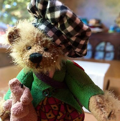 """Deb Canham  """"tom Tom The Piper's Son""""  Limited Edition"""
