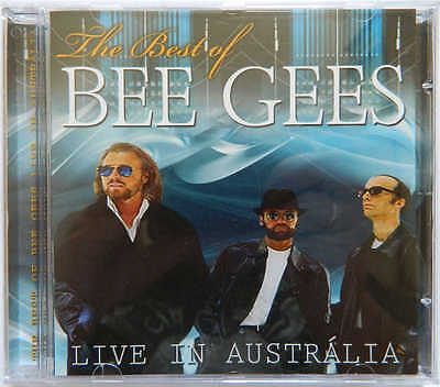 CD BEE GEES - Live In Australia (The Best Of) SEALED!! (Brazil Pressing Only)