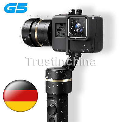 Feiyu Splash-Proof Handheld Gimbal G5 3-Axis for GoPro HERO 5 HERO 5/4/3+/3 DHL