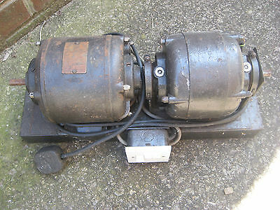 Crompton Parkinson AC Motor + British Thomson Houston AC Motor