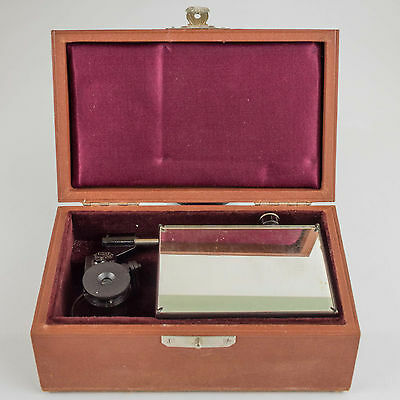 Leitz Wetzlar Zeichenapparat Camera Lucida early model in original fitted case