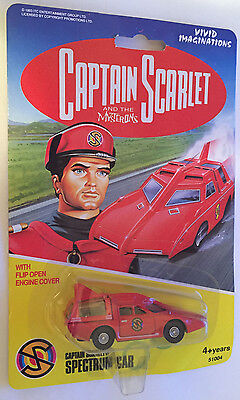 Captain Scarlet And The Mysterons Spectrum Car Vivid Imaginations 1993