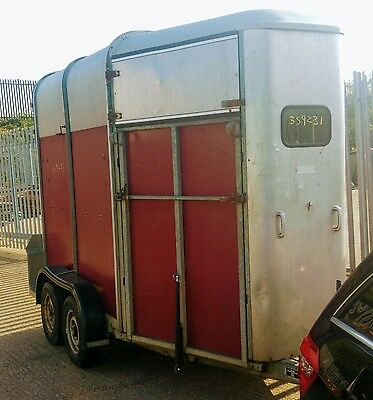 Ifor Williams horse box trailer hb505