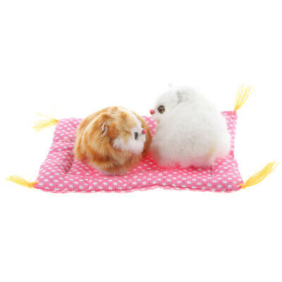 Simulation Cat/Rabbit Animal Model Figures Home Décor Kids Educational Toy Gift