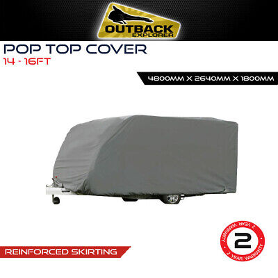 14-16 ft  poptop Pop Top Caravan Cover 4.26m - 4.87m Jayco Expanda 14.44