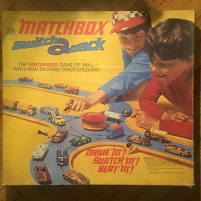 Matchbox Switch a Track M3 Motorised Game Track 1970 LENSEY London Never Used