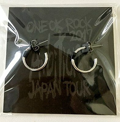 "New ONE OK ROCK Japanese Band Earrings 2017 """"Ambitions"""" JAPAN TOUR Wan'o clock"