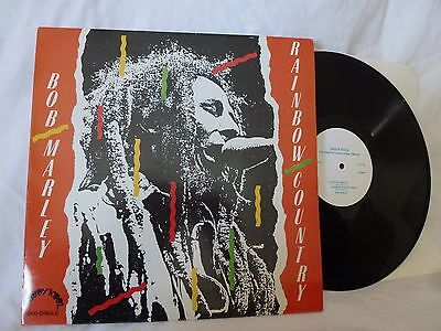 "BOB MARLEY Rainbow Country / PABLO AND THE UPSETTERS Lama Lava 12"" Vinyl ""MINT"""