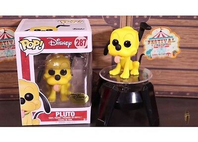 Funko Pop Vinyl Toy Disney Treasure Box Festival Of Friends Exclusive PLUTO ONLY