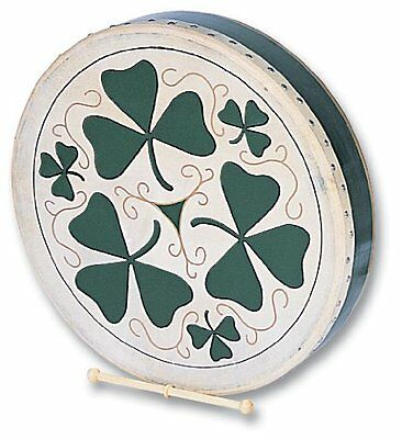 Performance Percussion SH1149 18 inch Shamrock Design Bodhran