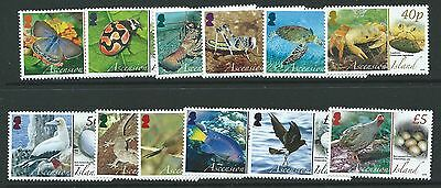 Ascension Sg987/98 2008 Fauna And Their Eggs Mnh