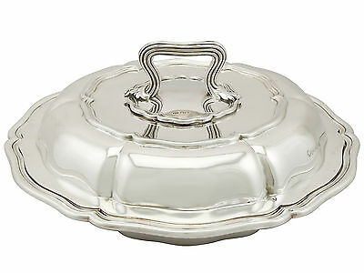 Antique William IV Sterling Silver Entree Dish by Paul Storr (1836)
